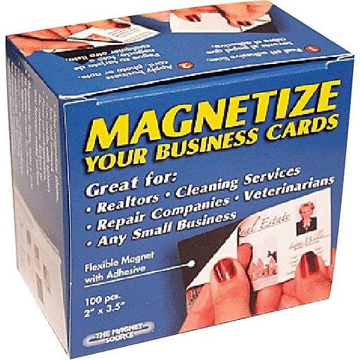 Staples business card magnets 100pack staples httpsstaples 3ps7is images for staples business card magnets reheart Images