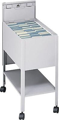 Safco® Extra-Deep Mobile Pedestal File, Black, Legal (SAF5363BL)
