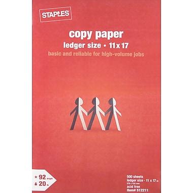 Staples Copy Paper, 11