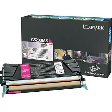 Lexmark Magenta Toner Cartridge (C5200MS), Return Program