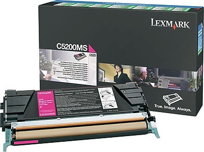 Lexmark Magenta Toner Cartridge (C5200MS), Return Program