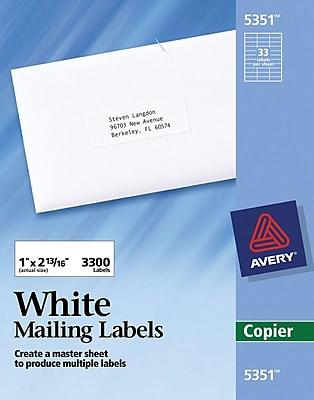 Étiquettes postales et d'expédition