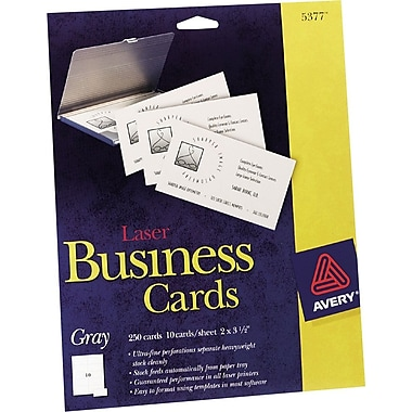 Avery Laser Business Cards Staples