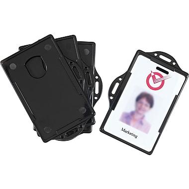 Staples® I.D. Card Holders, 4-Pack