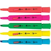 Staples® Tank-Style Highlighters