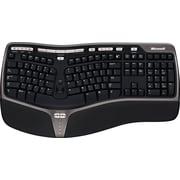 Microsoft Natural Ergonomic Keyboard 4000 for Business, Ergonomic Wired Keyboard, Black (5QH-00001)