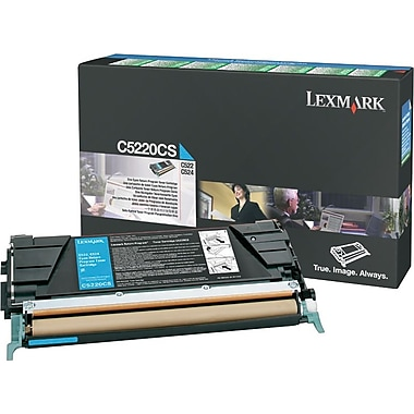 Lexmark C5220CS Cyan Toner Cartridge (C5220CS)