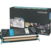 Lexmark Cyan Toner Cartridge (C5220CS), Return Program