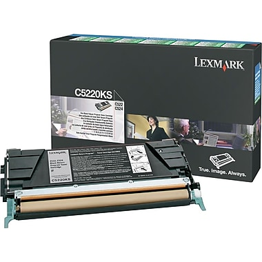 Lexmark C5220KS Black Toner Cartridge (C5220KS)