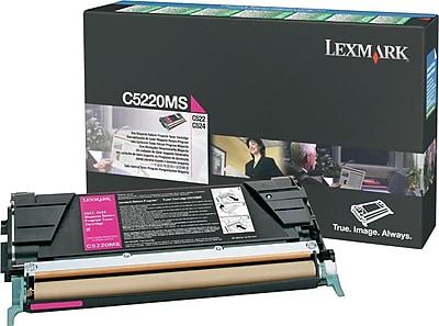 Lexmark Magenta Toner Cartridge (C5220MS), Return Program
