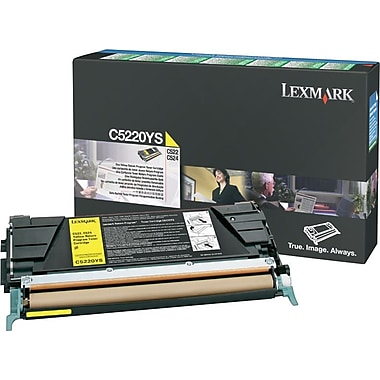 Lexmark Yellow Toner Cartridge (C5220YS), Return Program