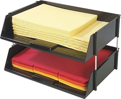 Deflect-o Industrial Tray Side-Load Stacking Trays 576339