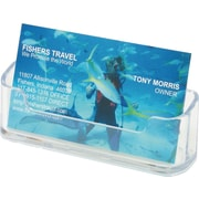 Staples® Clear Business Card Holder