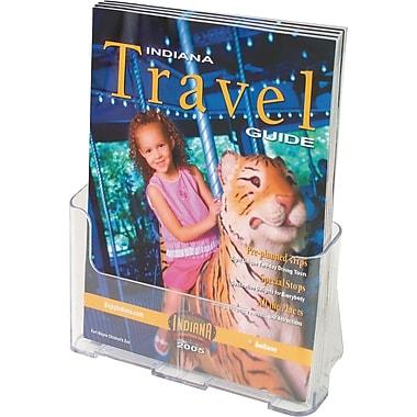 Staples Magazine Size Plastic Literature Holder, 10-3/4