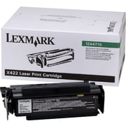 Lexmark 12A4715 Black Toner Cartridge, High Yield