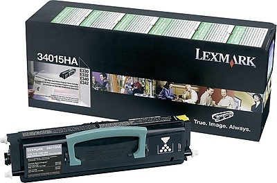 Lexmark 34015HA Black Return Program Toner Cartridge, High Yield