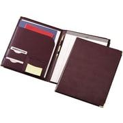 Cardinala Sewn Vinyl Padholder, Burgundy, 1Ea