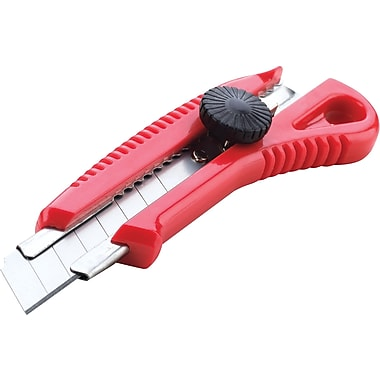 Staples® Snap-Off Heavy-Duty Retractable Utility Cutter