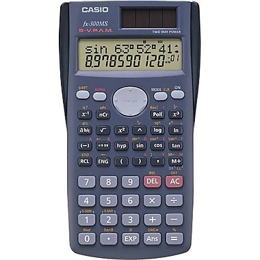 Casio® - Calculatrice scientifique FX-300MS Plus (240 fonctions)