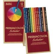 Sanford Prismacolor® Scholar™ Pencil Set, Assorted Colors, 12/Pk