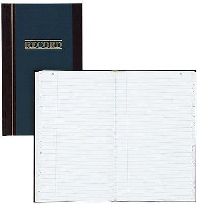 Wilson Jones S300 Record Ruled Account Book, 11 34