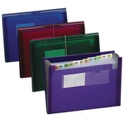 "Smead Ultra Color Expanding Pocket, 13 Pocket, 13""W x 9 1/4""H, Purple (SMD-70879)"