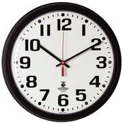 "Chicago Lighthouse 12"" Diameter Clock, Quartz Contract, Black (67700000)"