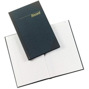 """Rediform Record Book, Record-Ruled, 300 Pages, 12 14"""" x 7 14"""", Blue"""