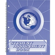 """Hubbard Student Assignment Book, Up to 40 Weeks, 8 1/2"""" x 11"""""""