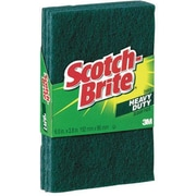 3M Scotch-Brite® Heavy Duty Scouring Pads, 3 PK, Green