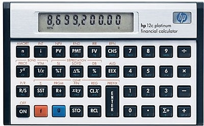 hp 12c platinum programmable financial calculator staples rh staples com hp 12c platinum financial calculator user's guide pdf HP 12C Amortization Calculation
