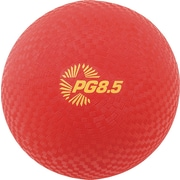 """Champion Sports Playground Ball, 8 1/2"""", Red, Each (PG85)"""
