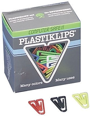 Plastic Clips, Medium, Assorted Colors