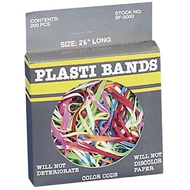 Plasti Bands, Size 4-1/4