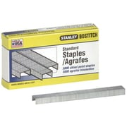 "Stanley Bostitch Professional B8a Staples, Chisel Point, for use in any B8a stapler, 12""W, 14""L, 10,000Bx"