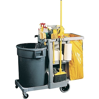 Rubbermaid® Janitor Cart