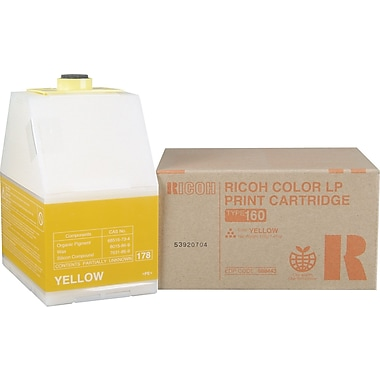 Ricoh 888443 Yellow Toner Cartridge