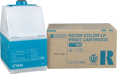 Ricoh 888445 Cyan Toner Cartridge