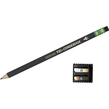 Dixon Ticonderoga® Black Pencil, #2, Dozen