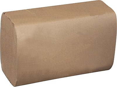 Tork® Recycled Single Fold Paper Towels, Natural, 1-Ply, 4,000/Case