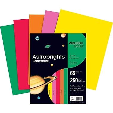 ASTROBRIGHTS Cardstock, 8 1/2