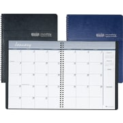 """House of Doolittle One-Month-Per-Two-Page Recycled 14-Month Appointment Book, Dec.-Jan., Blue, 8 1/2"""" x 11"""", 2019"""