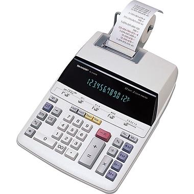 Sharp® – Calculatrice imprimante EL2192RII, 12 chiffres