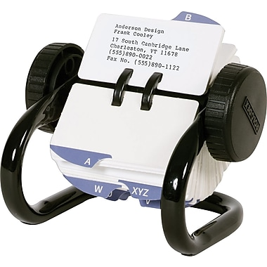 Rolodex™ Mini Rotary Card File, 250-Card, 1-3/4