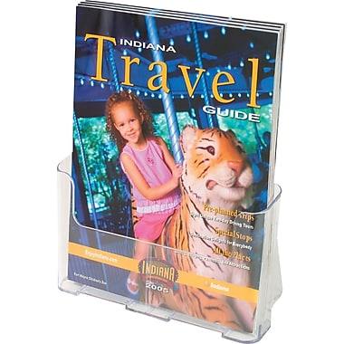 Staples® Rigid Acrylic Literature Holder, Magazine Size, 9-1/4
