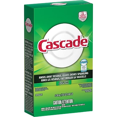 Cascade Dishwasher Detergent, Powder, Fresh Scent