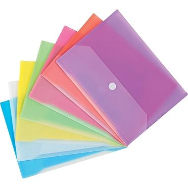Winnable - Pochettes de classement en poly avec Velcro