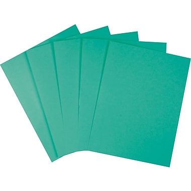 Staples Brights 24 lb. Colored Paper, Teal, 500/Ream