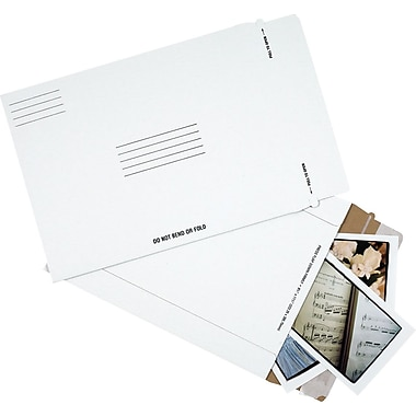 Staples QuickStrip Photo Mailers, 8-1/2