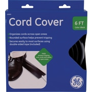 GE Cord Cover, Black: 6' x 2.5""